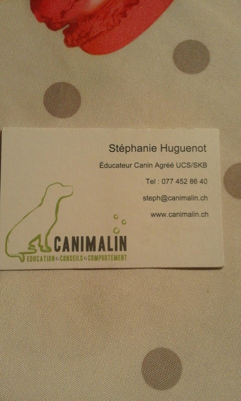 Canimalin Stphanie Huguenot Ducateur Canin Agr UCS SKB